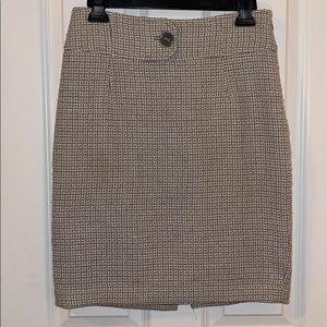 The Limited tweed pencil skirt sz 2